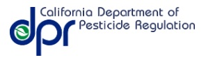 california pesticide license